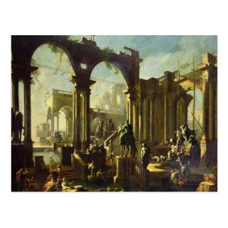 Ruinen der Bäder von Caracalla Postkarte