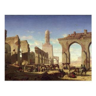 Ruinen der Moschee des Kalif-EL Haken Postkarte