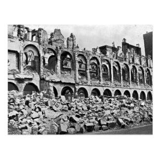 Ruinen des Finanzministeriums Postkarte