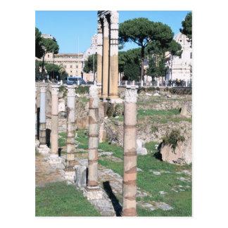 Ruinen des Tempels der Gießmaschine und des Postkarte