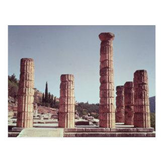 Ruinen des Tempels von Apollo Postkarte