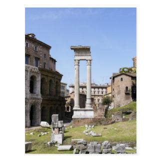 Ruinen des Theaters von Marcellus Postkarte