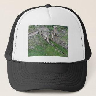 Ruinen eines antiken römischen Amphitheaters Truckerkappe