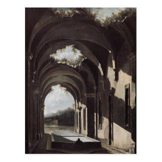 Ruinen in einer Landschaft, c.1646-47 Postkarte