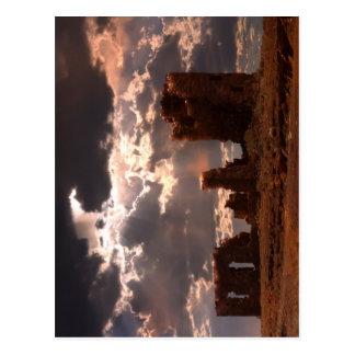 Ruinen Postkarte