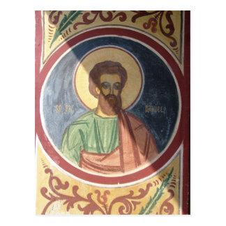 Rumänien, Brasov, orthodoxer christlicher Ikon Postkarte