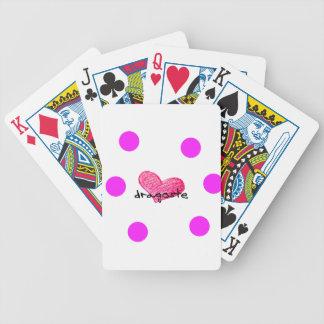 Rumänische Sprache des Liebe-Entwurfs Bicycle Spielkarten