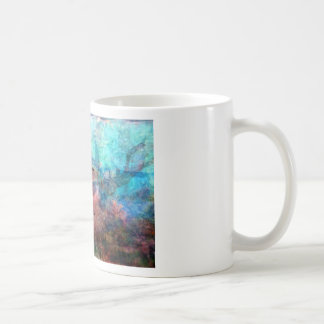 Rumi emporhebendes Zitat über Energie und Kaffeetasse
