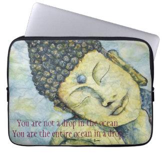 Rumi Zitat-Buddha-Kunst Laptopschutzhülle