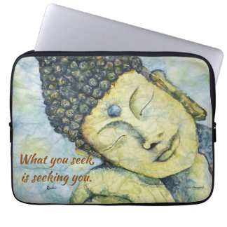 Rumi Zitat-Zen-Buddha-Kunst-Laptop-Hülse Laptop Sleeve
