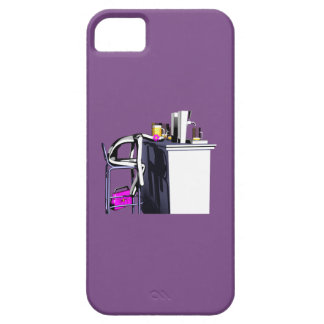 Rumpf Barhiebe Frau 2 violettes iPhone iPhone 5 Etuis
