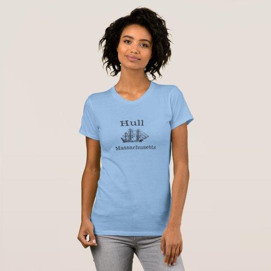 Rumpf hohes Massachusetts versenden T - Shirt für