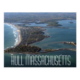 Rumpf-Massachusetts-Postkarte Postkarte