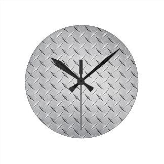Runde Diamant-Platten-Uhr Runde Wanduhr