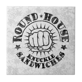 Runde Haus-Sandwiche Fliese