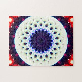 Runde Meditations-Mandala des Portal-|