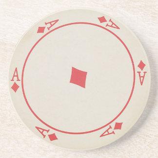 Runde Spielkarte-Untersetzer Bierdeckel
