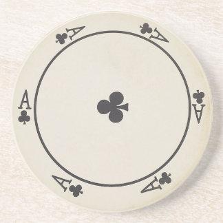 Runde Spielkarte-Untersetzer Untersatz