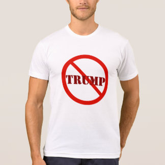 Runder roter Enddonald trump Anti-Trumpf 2016 T-Shirt