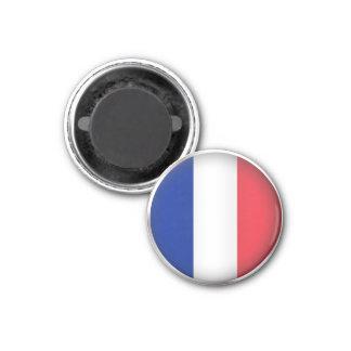 Rundes Frankreich Runder Magnet 2,5 Cm