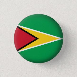 Rundes Guyana Runder Button 2,5 Cm