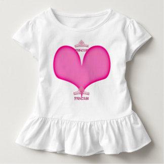 Rüsche T Prinzessin-Kleinkind Kleinkind T-shirt