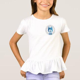 Rüsche-T - Shirt der Mädchen-HAMR