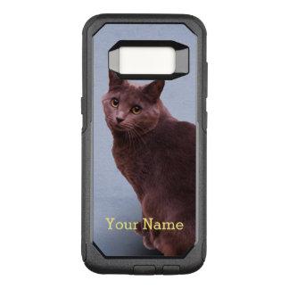 Russische blaue Katze OtterBox Commuter Samsung Galaxy S8 Hülle