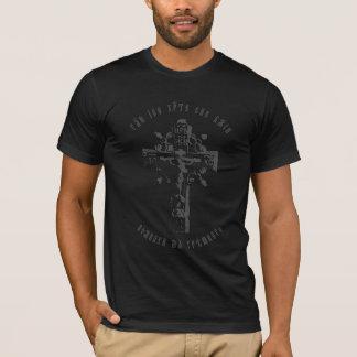 Russisches orthodoxes Kreuz mit Jesus-Gebet T-Shirt