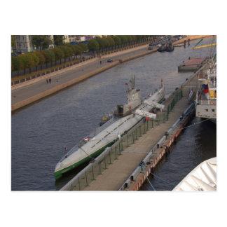 Russisches Unterseeboot C189 Postkarte