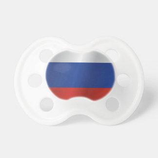 Russland-Flagge Schnuller