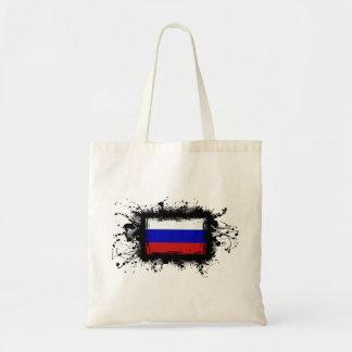 Russland-Flagge Tragetasche