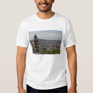 Russland, Murmansk. Größte Stadt nördlich Shirt