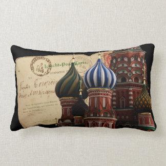 Russland-Postkarten-Kathedralelumbar-Kissen Zierkissen