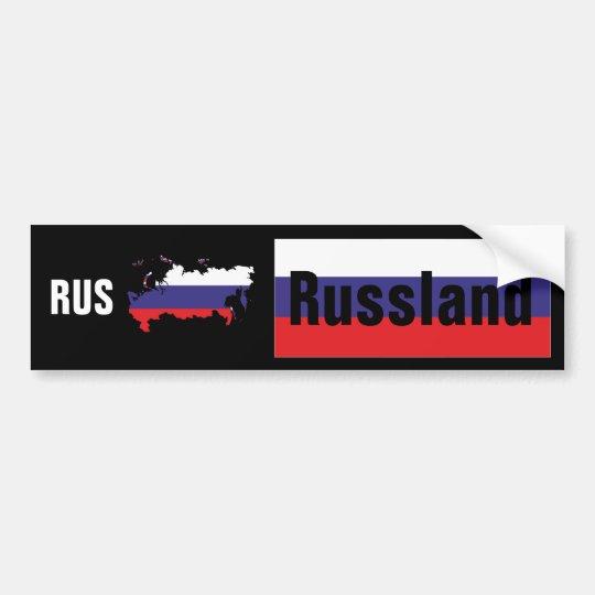 Russland - Russia Autoaufkleber