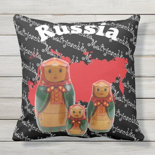 Russland - Russia Babuschka - Matrjoschka Kissen
