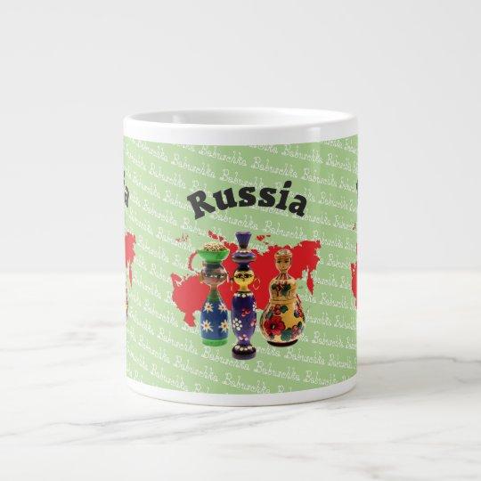 Russland - Russia Babuschka - Matrjoschka Tasse