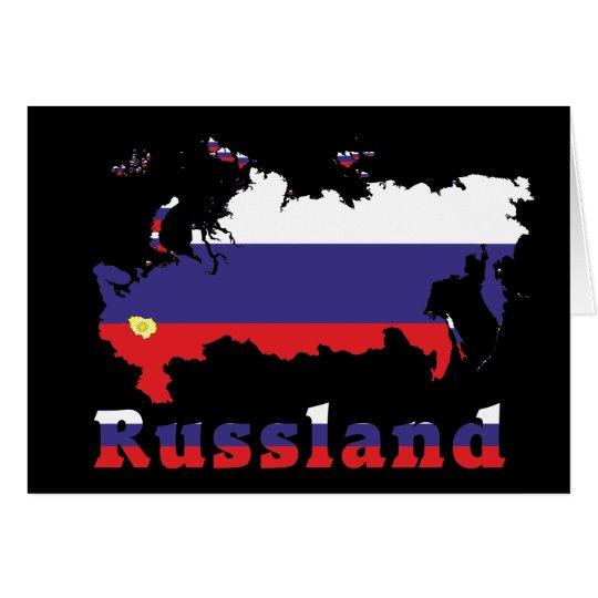 Russland - Russia Karte