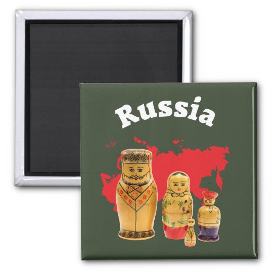 Russland - Russia Magnet