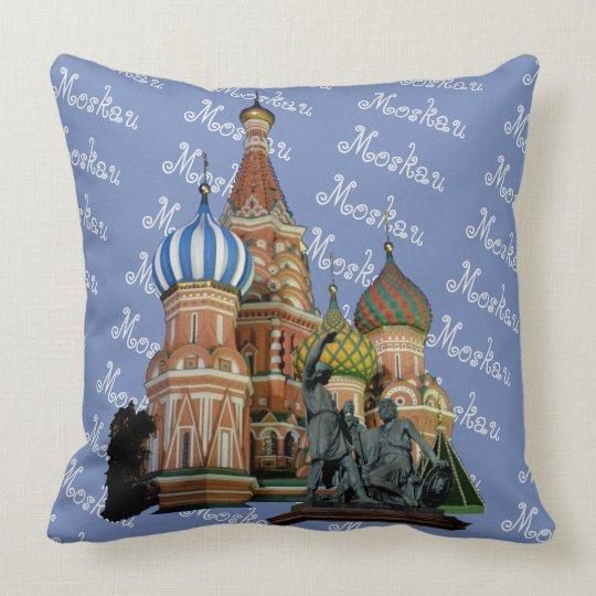 Russland - Russia Moskau Kissen