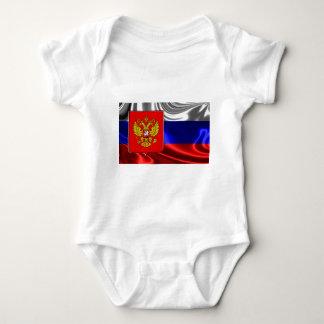 RusslandFlagge #4 Baby Strampler