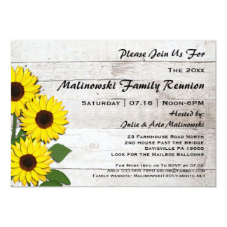 Rustikale 12,7 X 17,8 Cm Einladungskarte