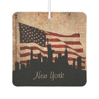 Rustikale amerikanische Flaggen-New Lufterfrischer