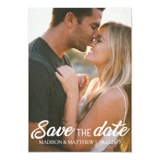 Rustikale Einladung des Landes Save the Date