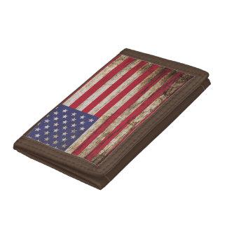 Rustikale Flagge Amerikaner-Vereinigter Staaten