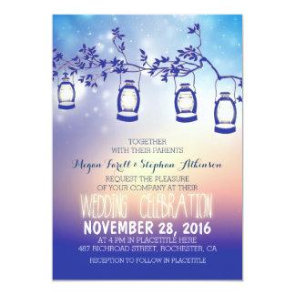 rustikale Gartenlichter - Laternen, die Einladung