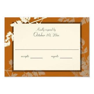 Rustikale Natur-Hochzeits-Wartekarte 8,9 X 12,7 Cm Einladungskarte