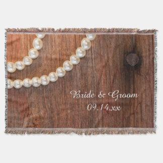 Rustikale Perlen und Scheunen-hölzerne Decke