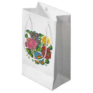 Rustikale ungarische Blumen Kleine Geschenktüte