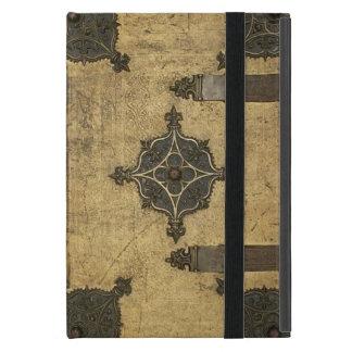 Rustikaler mittelalterlicher lederner iPad mini hülle
